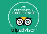 TripAdvisor Certificate of Excellence 2019 Logo